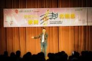 <h5>呂良偉先生獻唱經典名曲「上海灘」</h5>
