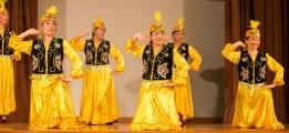 <h5>新疆舞表演</h5>