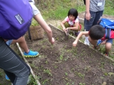 <h5>孩子們要動手耕種了</h5>